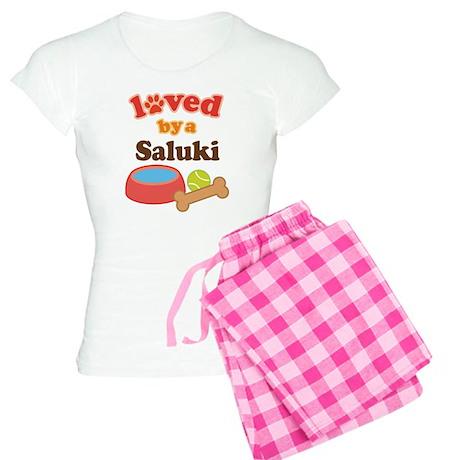 Saluki Dog Gift Women's Light Pajamas