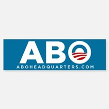 Anyone But Obama Sticker (Bumper)