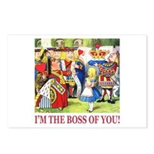 I'm The Boss Of You! Postcards (Package of 8)