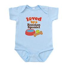 Russian Spaniel Dog Gift Infant Bodysuit