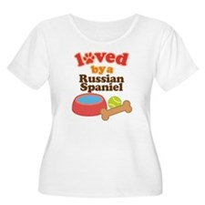 Russian Spaniel Dog Gift T-Shirt
