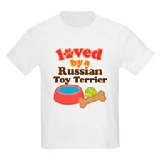 Russian Toy Terrier Dog Gift T-Shirt