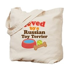 Russian Toy Terrier Dog Gift Tote Bag