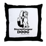 Stormtroop Doog 2.0 Throw Pillow