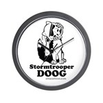 Stormtroop Doog 2.0 Wall Clock