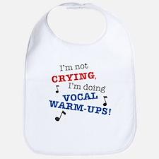 Im_Not_Crying_7x7.tif Baby Bib
