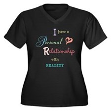 Relationship with Reality Women's Plus Size V-Neck