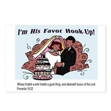 His Favor Postcards (Package of 8)