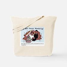 His Favor Tote Bag