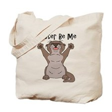 Cute Otter drawing Tote Bag