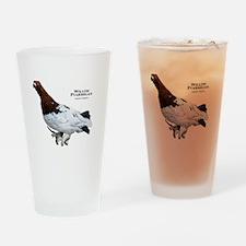 Willow Ptarmigan Drinking Glass