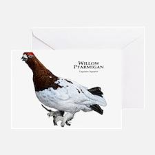 Willow Ptarmigan Greeting Card