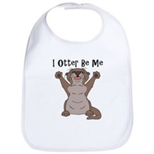 Cute Sea otter Bib