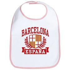 Barcelona Espana Bib