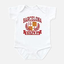 Barcelona Espana Infant Bodysuit