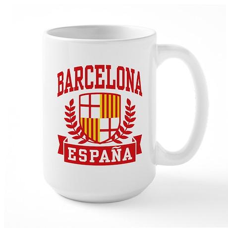 Barcelona Espana Large Mug