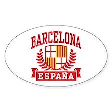 Barcelona Espana Decal