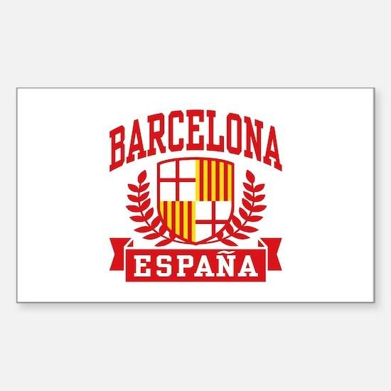 Barcelona Espana Sticker (Rectangle)