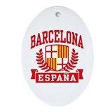 Barcelona Oval Ornaments