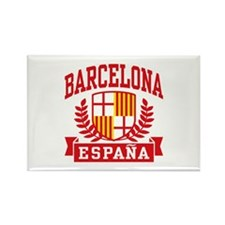 Barcelona Espana Rectangle Magnet