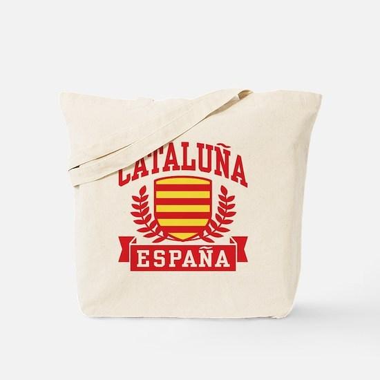 Cataluna Espana Tote Bag
