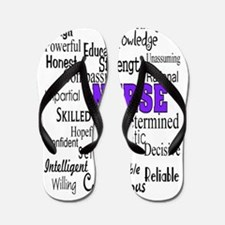 ff nurse purple.PNG Flip Flops