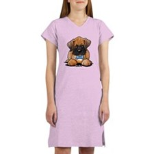 Boxer Puppy Women's Nightshirt