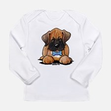 Boxer Puppy Long Sleeve Infant T-Shirt