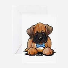 Boxer Puppy Greeting Cards (Pk of 20)