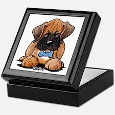 Boxer Puppy Keepsake Box