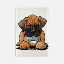 Boxer Puppy Rectangle Magnet