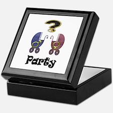 Gender reveal party Keepsake Box