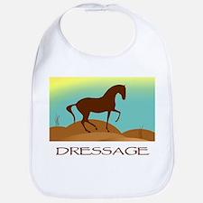 desert dressage w/ text Bib