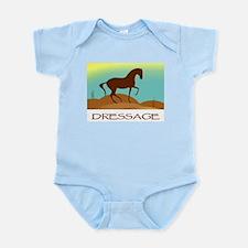 desert dressage w/ text Infant Creeper