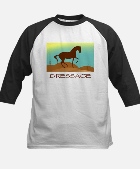 desert dressage w/ text Kids Baseball Jersey