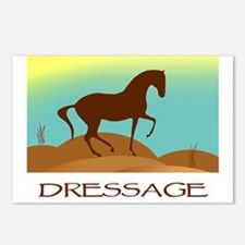 desert dressage w/ text Postcards (Package of 8)