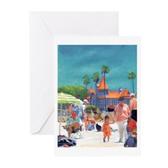 Baby's Beach Day Greeting Cards (Pk of 10)