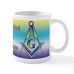 My husband is a Freemason! Mug