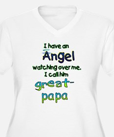 I HAVE AN ANGELGREAT PAPA.png T-Shirt