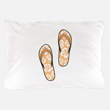 Orange Flops Pillow Case