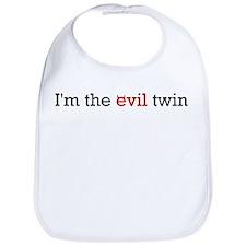 """""""I'm the Evil Twin"""" Bib"""