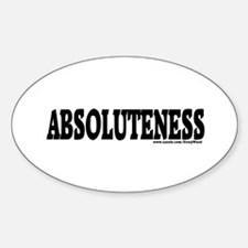 ABSOLUTENESS Decal