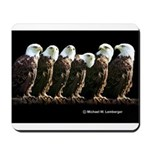 Eagles in a Row mousepad