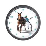 Harness racing Wall Clocks
