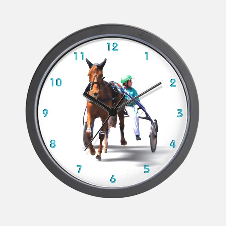 Before the Race Wall Clock