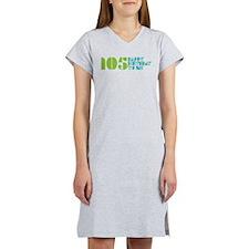 Happy Birthday 105 Women's Nightshirt