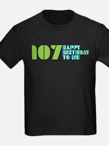 Happy Birthday 107 T