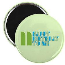 Happy Birthday 11 Magnet