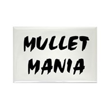 Mullet Mania!!! Rectangle Magnet