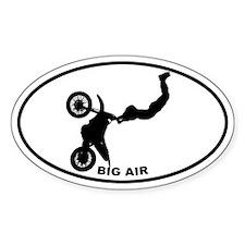 Big Air - Motocross Oval Decal